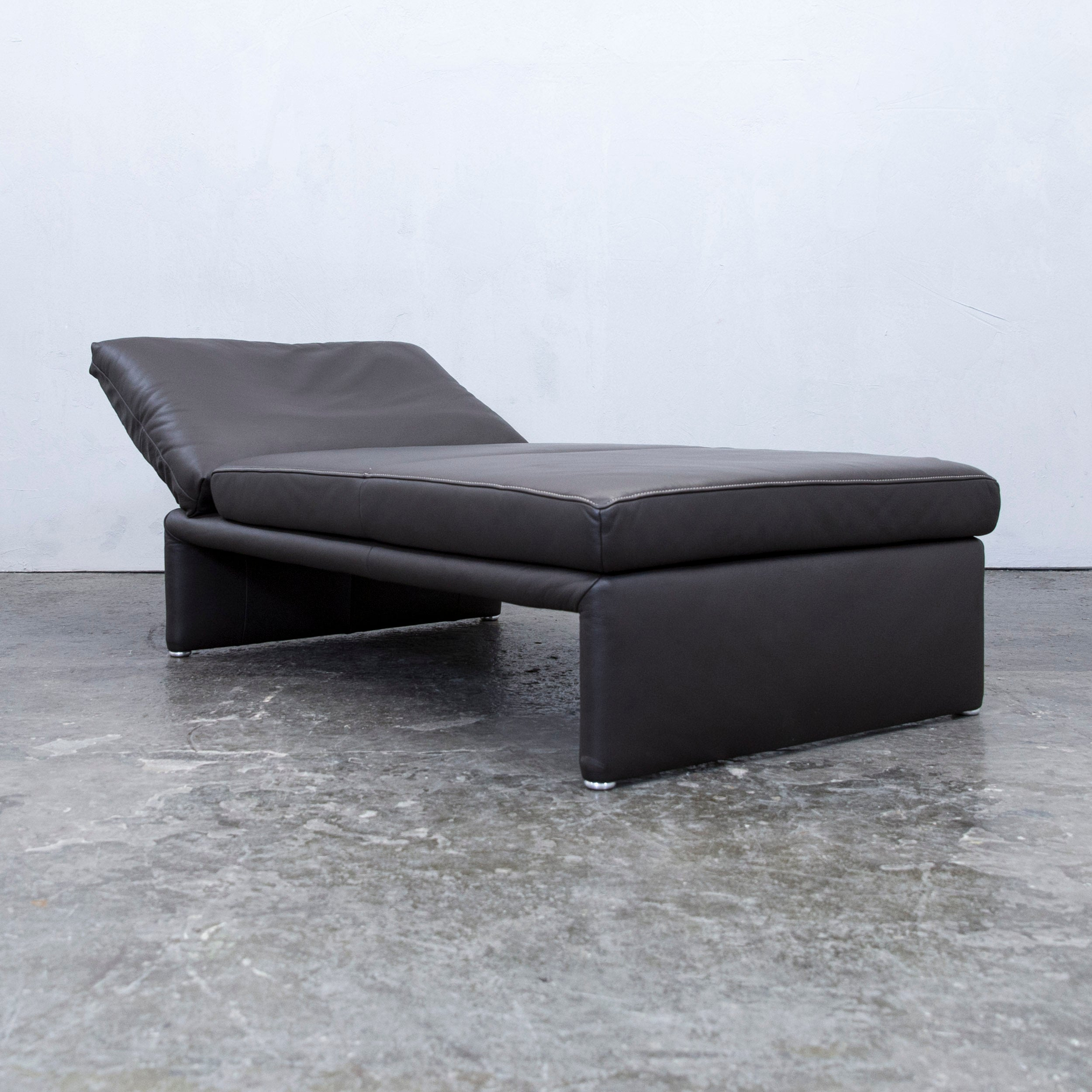 Recamiere Design Koinor Designer Chaiselongue Leather Mocca Brown Recamiere Function Modern