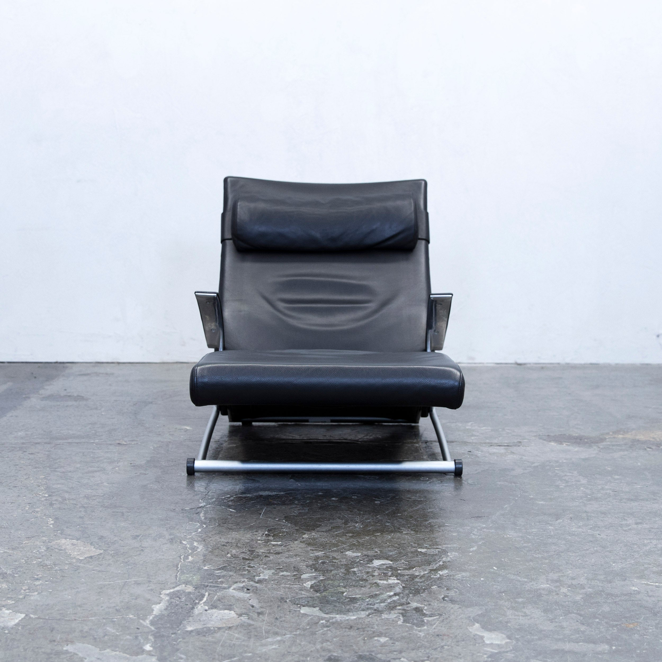 Sessel Cassin Interprofil Joachim Nees Designer Chair Leather Black Function One Seat Relax