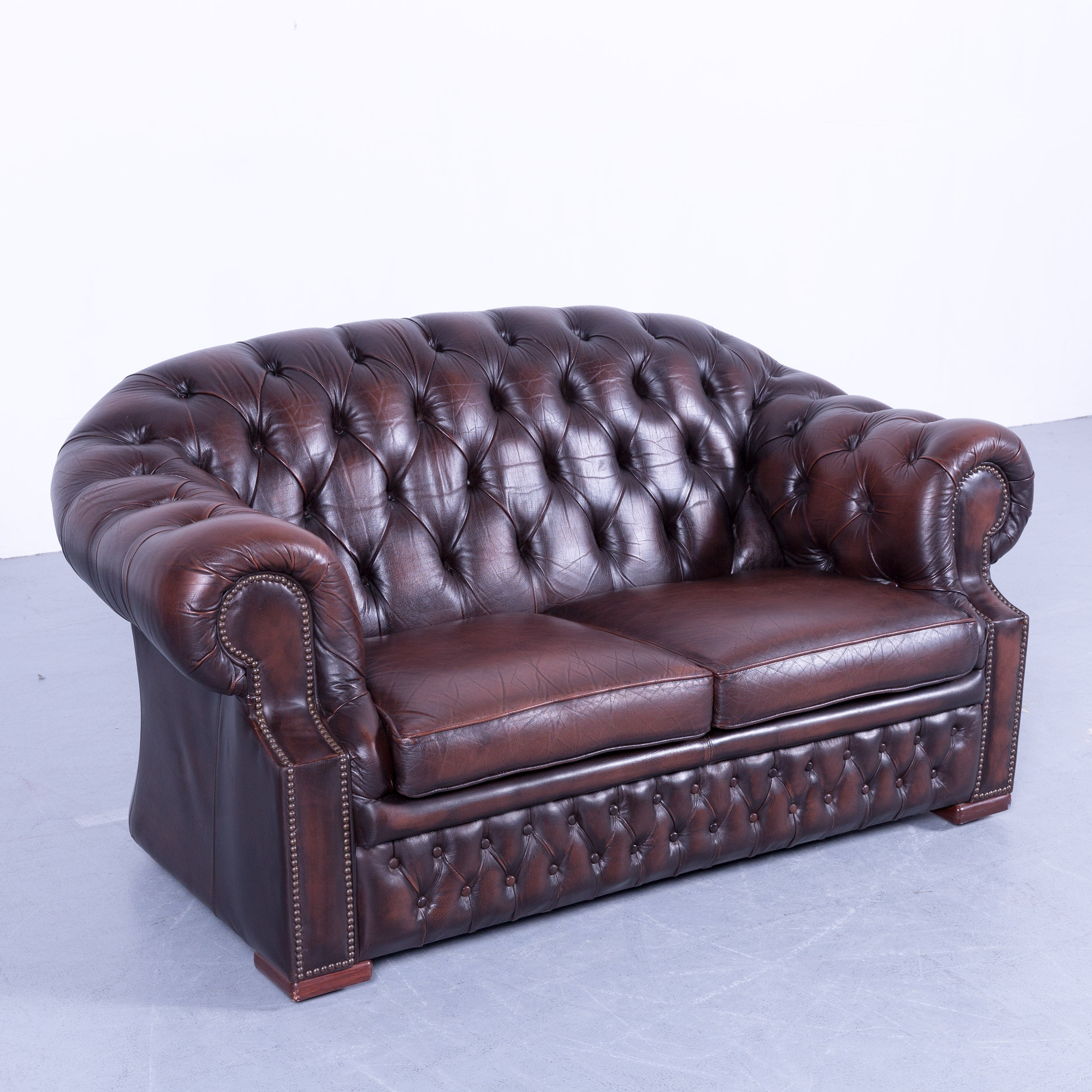 Vintage Sofa Und Sessel Centurion Chesterfield Sofa Brown Mocca Two Seat Vintage Retro Couch