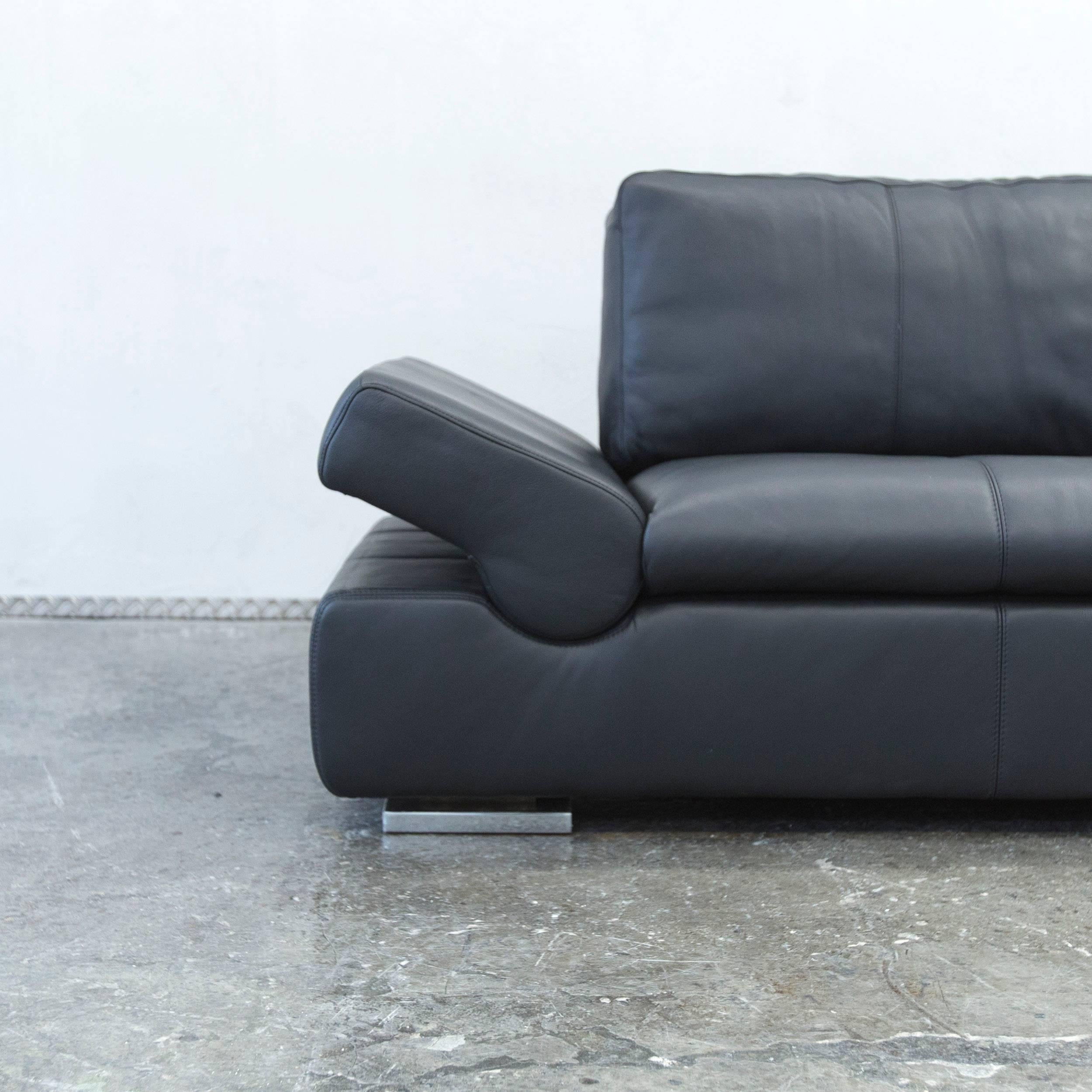 Musterring Ledersofa Musterring International - 2 For Sale At 1stdibs