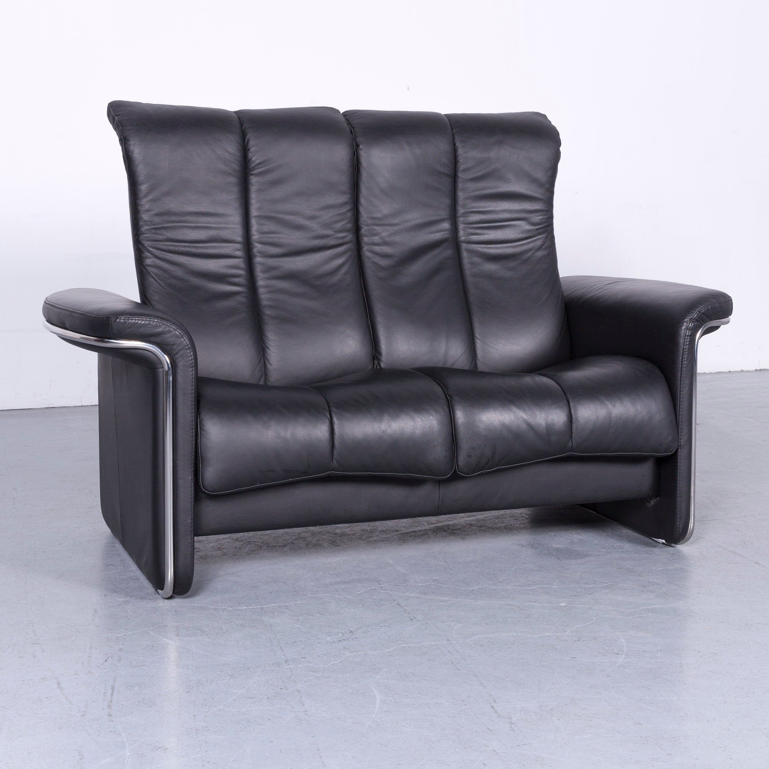 Relax Sofa Ekornes Stressless Soul Relax Sofa Black Leather Tv Recliner Two Seat