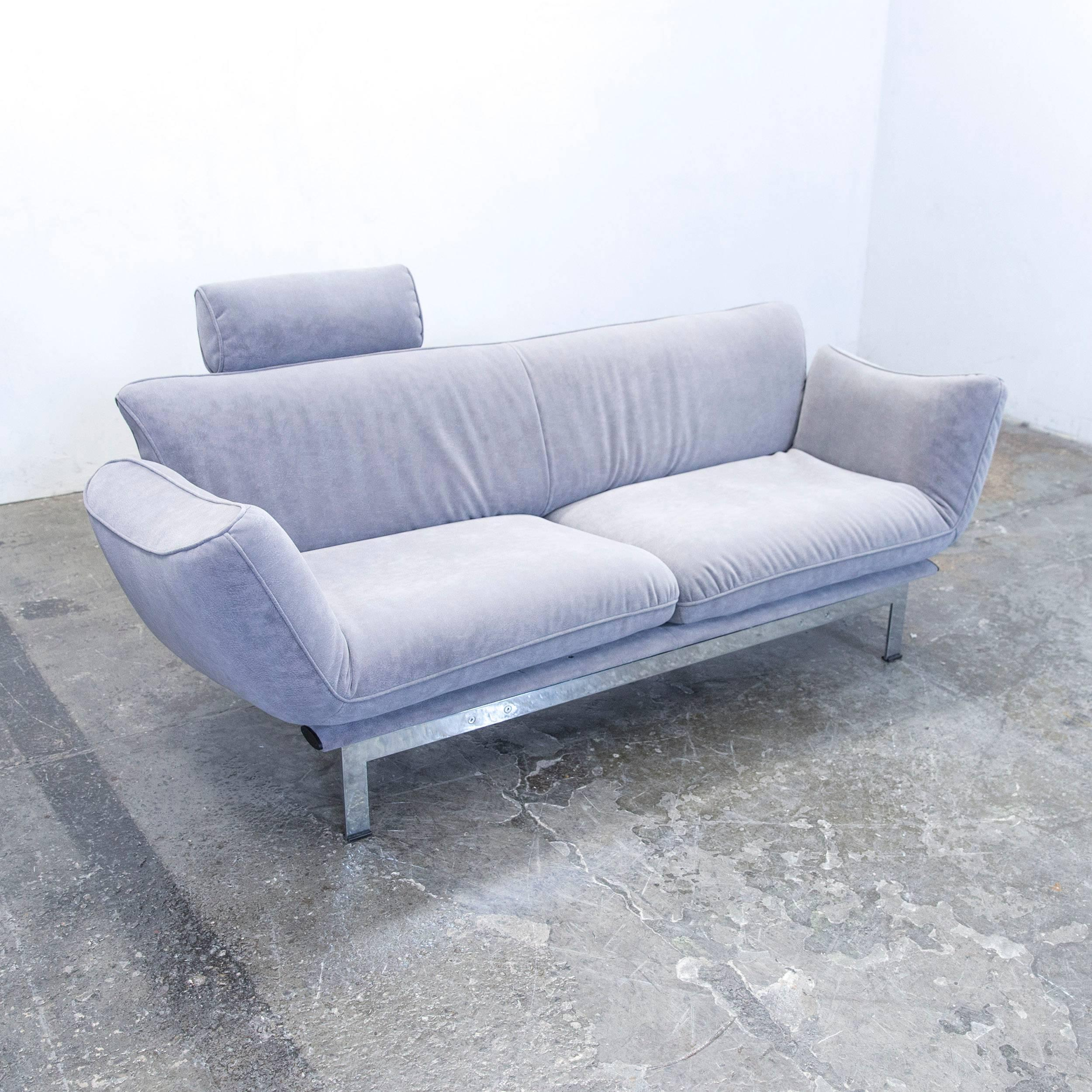 Couch Grau De Sede Ds 140 Designer Sofa Fabric Grey Function Couch Modern