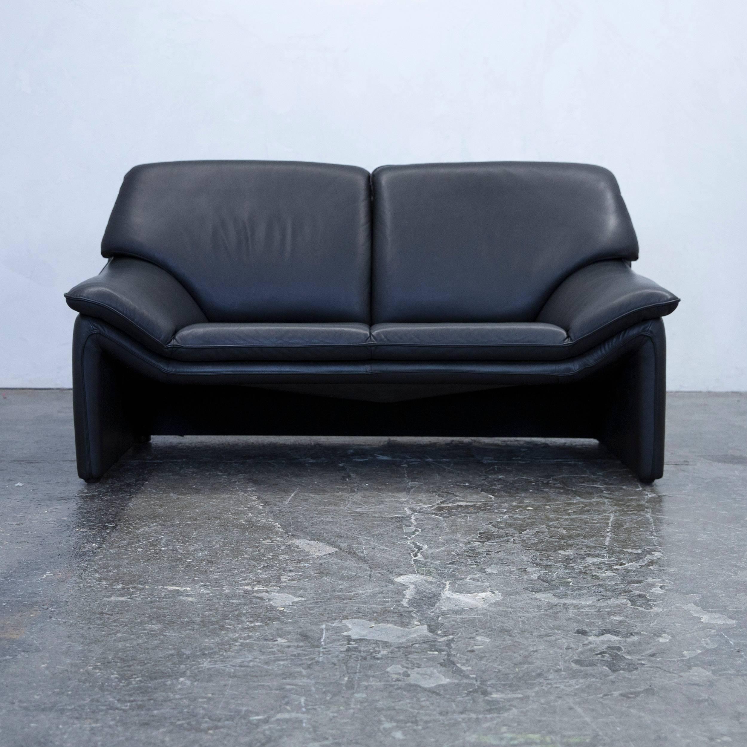 Laauser Sofa Couch Blau Luxus Galerie Koinor Designer Sofa Leder Blau