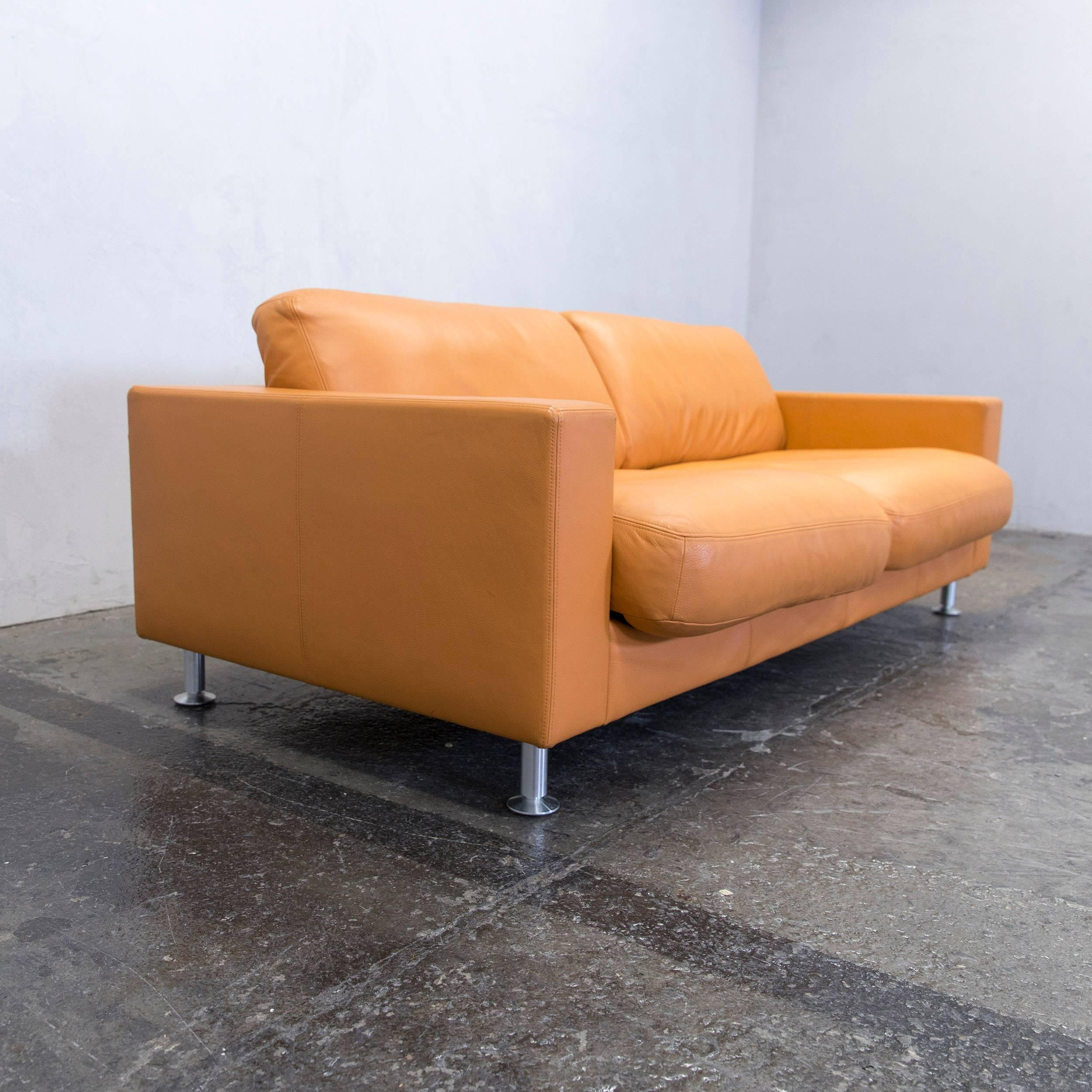 Couch Leder Cappuccino Designer Sofa Rolf Benz Trendy Alma By Beck Design For Rolf Benz
