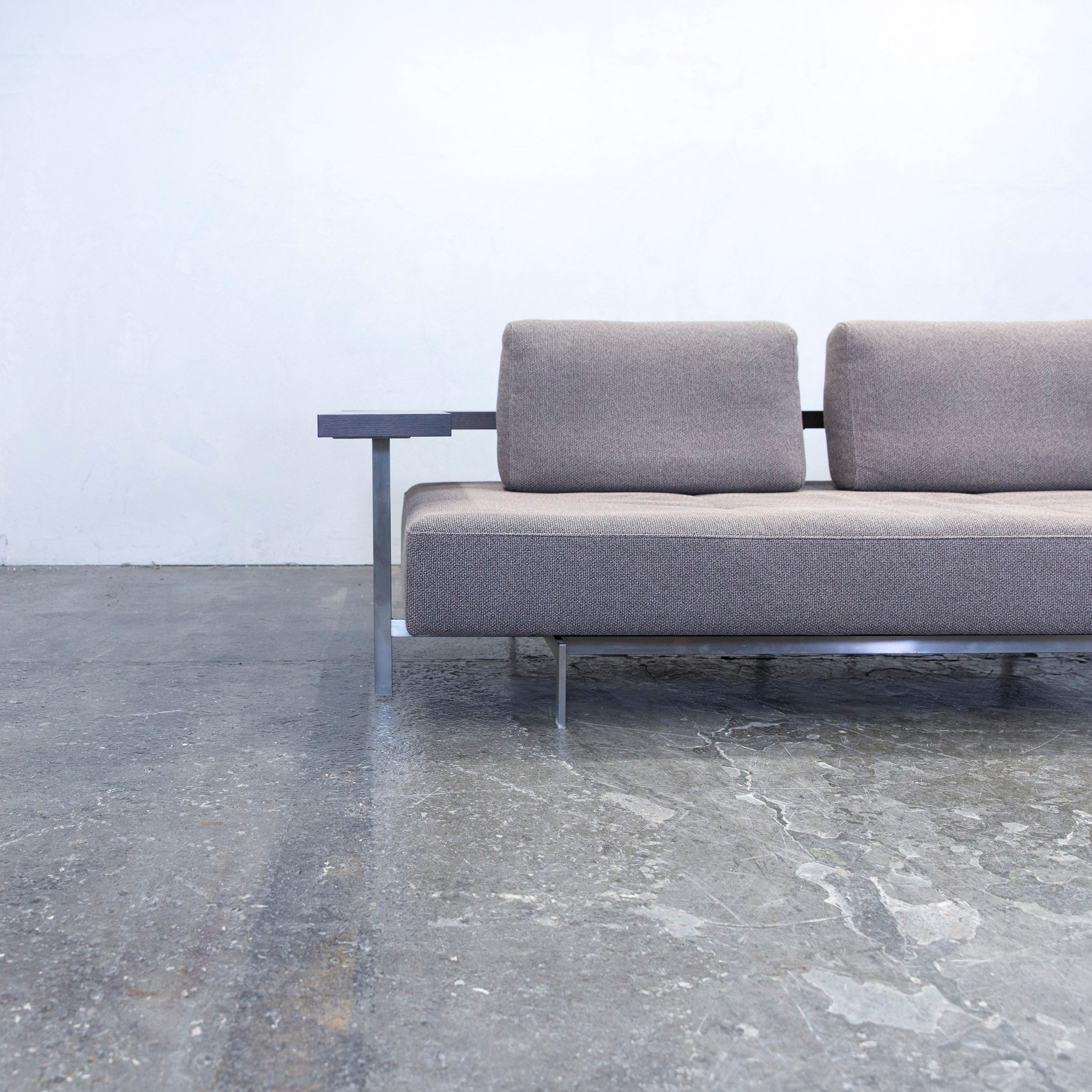 Sofa Couch Grau Designer Rolf Benz Dono 6100 Designer Sofa Grey Fabric Two Seat Couch Modern