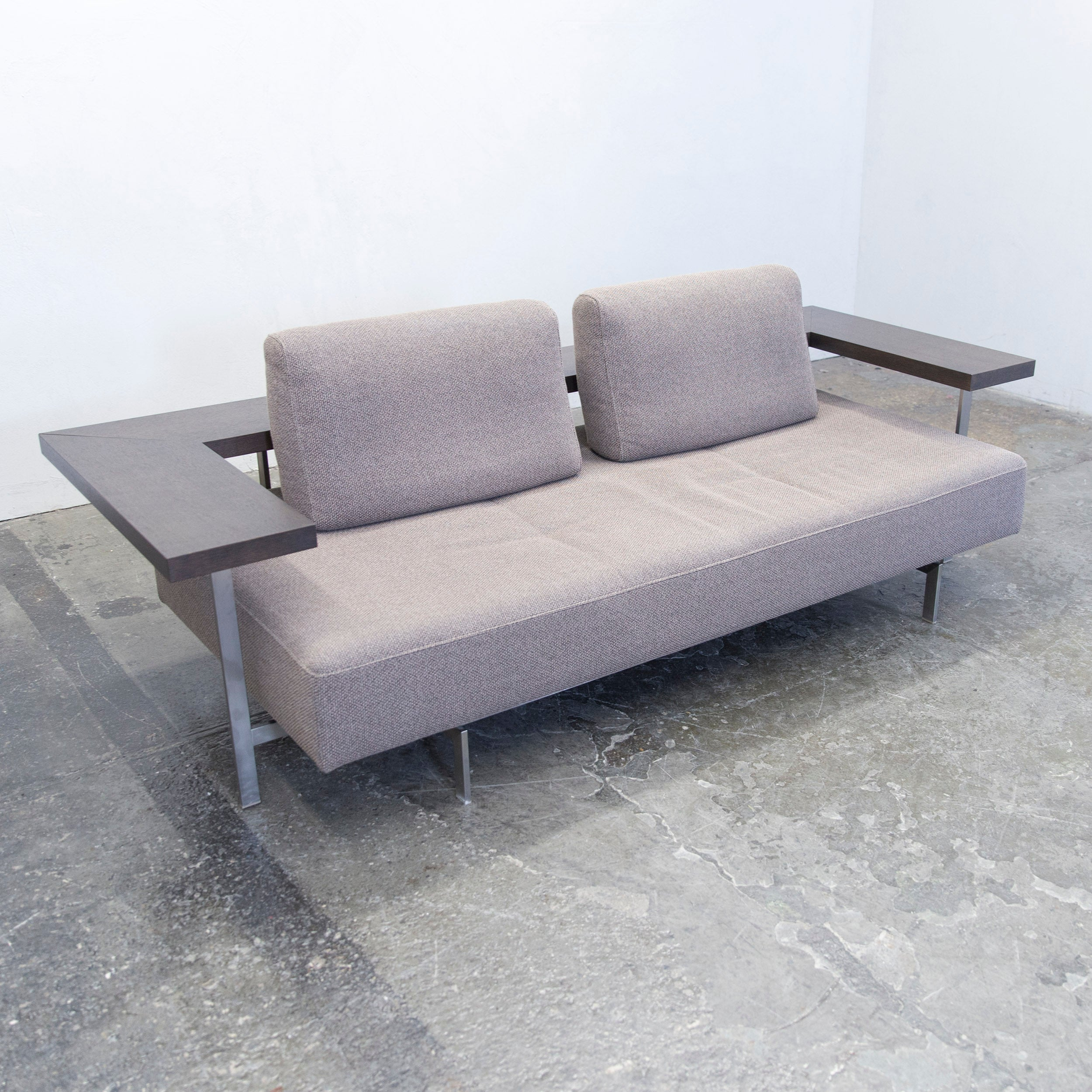 Sofa Couch Grau Designer Rolf Benz Dono 6100 Designer Sofa Set Grey Fabric Two Seat Couch Modern