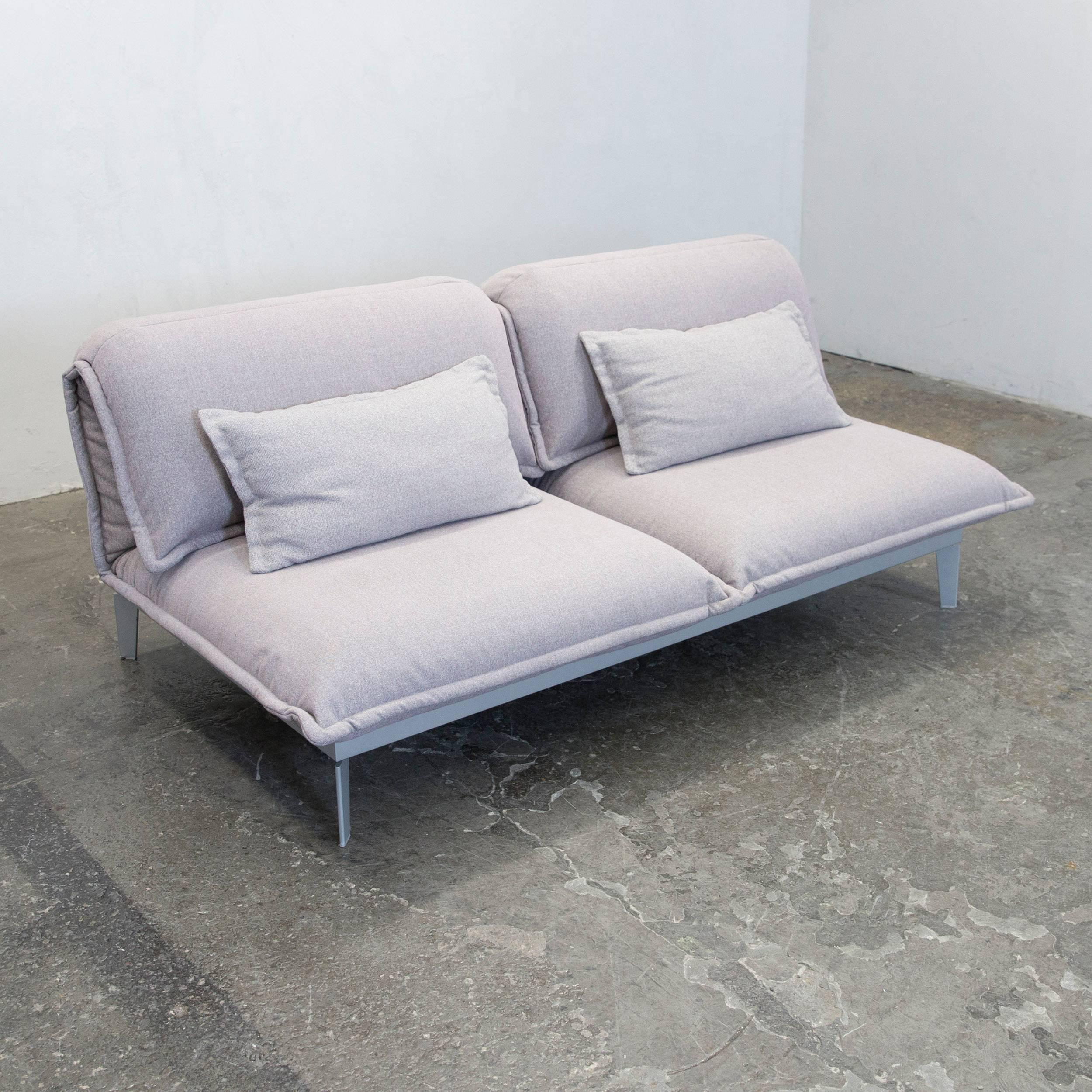Rolf Benz Sofa Ebay Rolf Benz Nova Designer Sofa Grey Rose Lilac Fabric Two Seat Function Couch