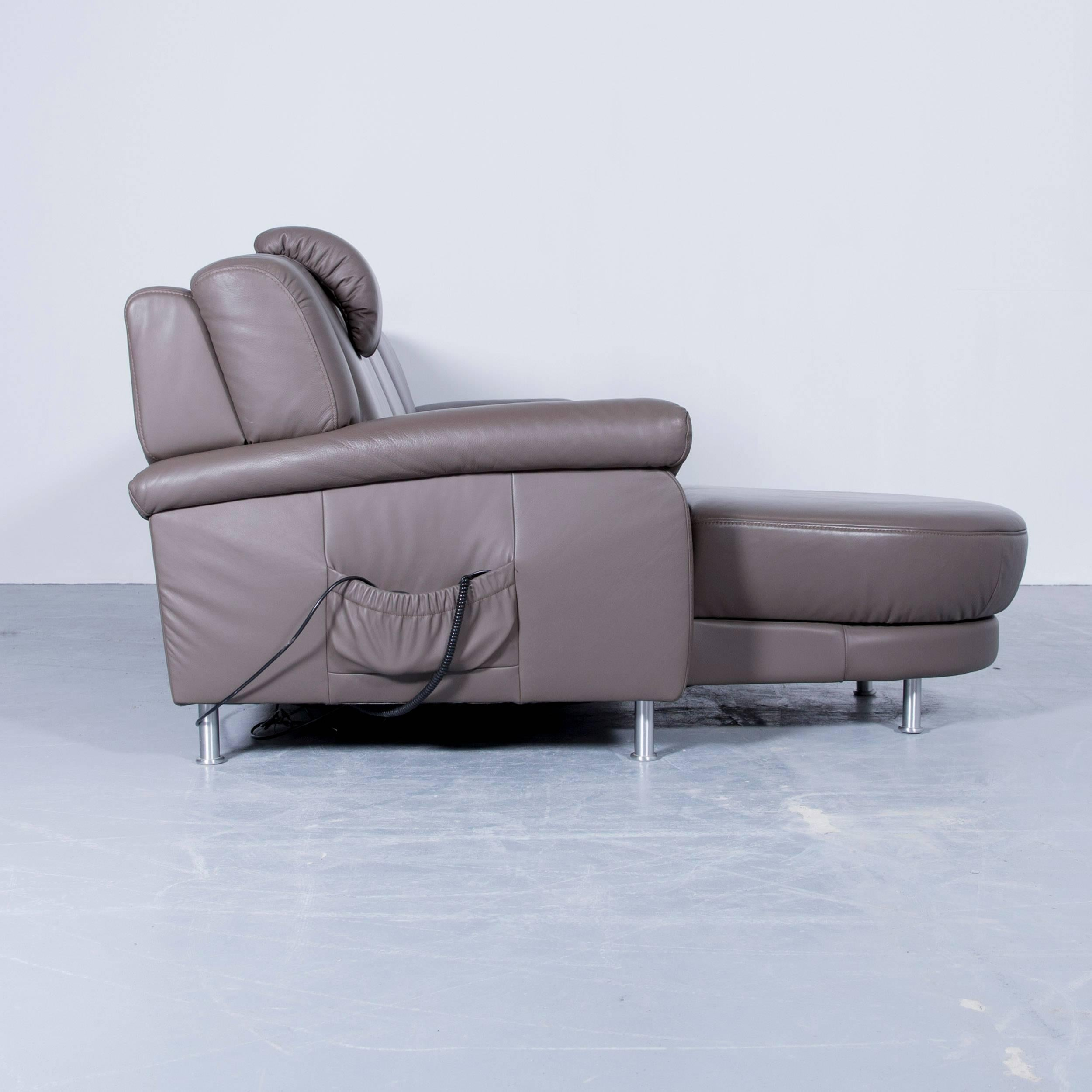 Himolla Sessel Gebraucht Himolla Planopoly Corner Sofa Leather Brown Electric Recline Function Couch