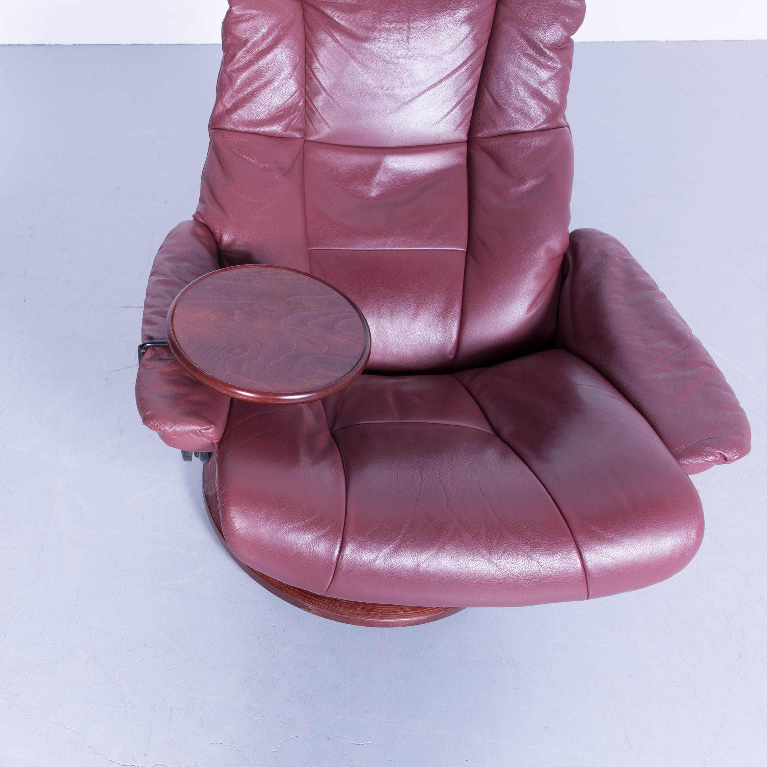 Stressless Sessel Inkl. Hocker Modell Sunrise (m) Classic Stressless Sessel Leder Rot