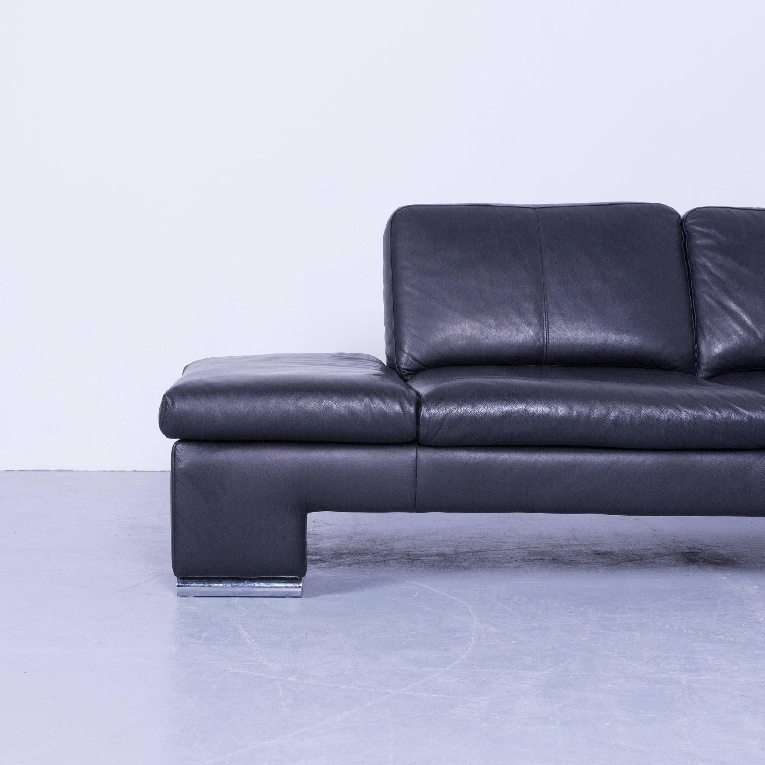 Sofa Von Interio Couch Schwarz Leder Simple Best Cheap Beautiful Rolf Benz