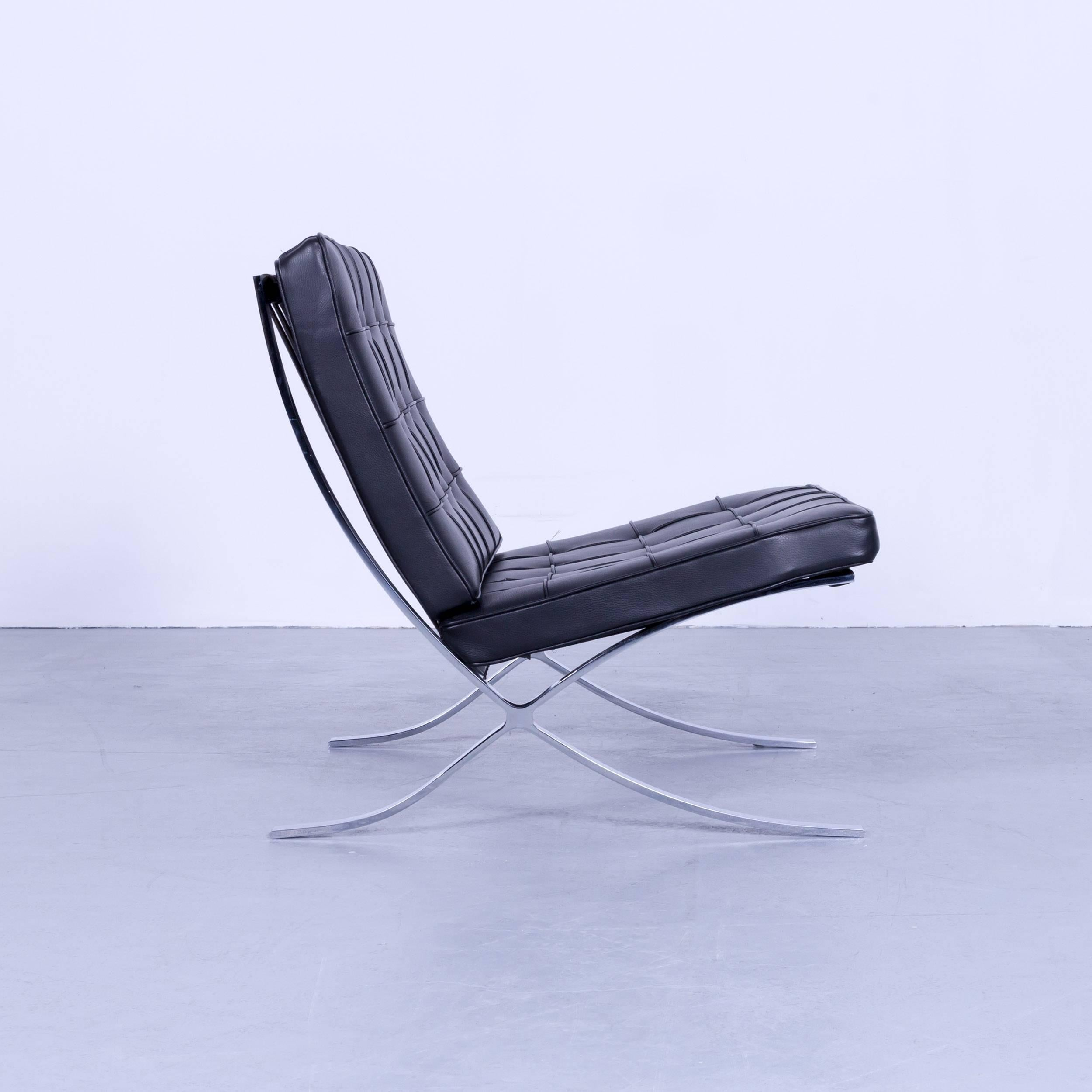 Mies Van Der Rohe Sessel Knoll International Barcelona Chair By Ludwig Mies Van Der Rohe Black Leather