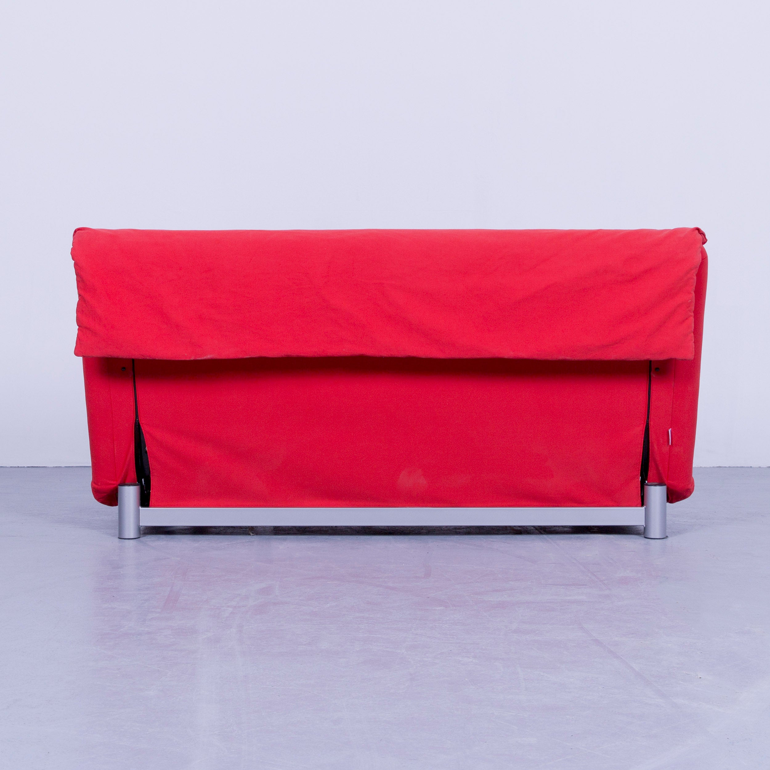 Schlafcouch Ligne Roset Original Ligne Roset Multy Cloth Sleeping Couch Red Two Seat Function Modern