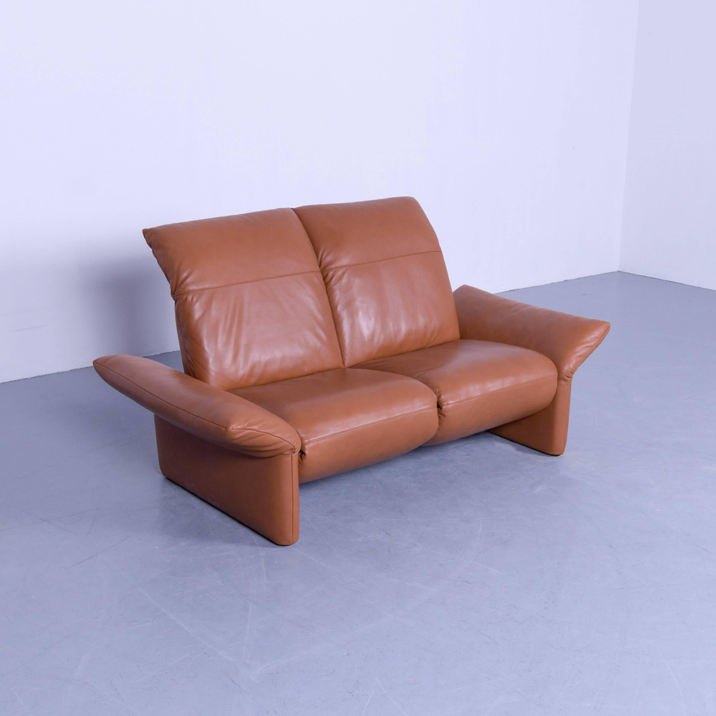 Relax Couch Elektrisch Koinor Elena Designer Two Seat Sofa Brown Cognac Leather Function Modern Two 2