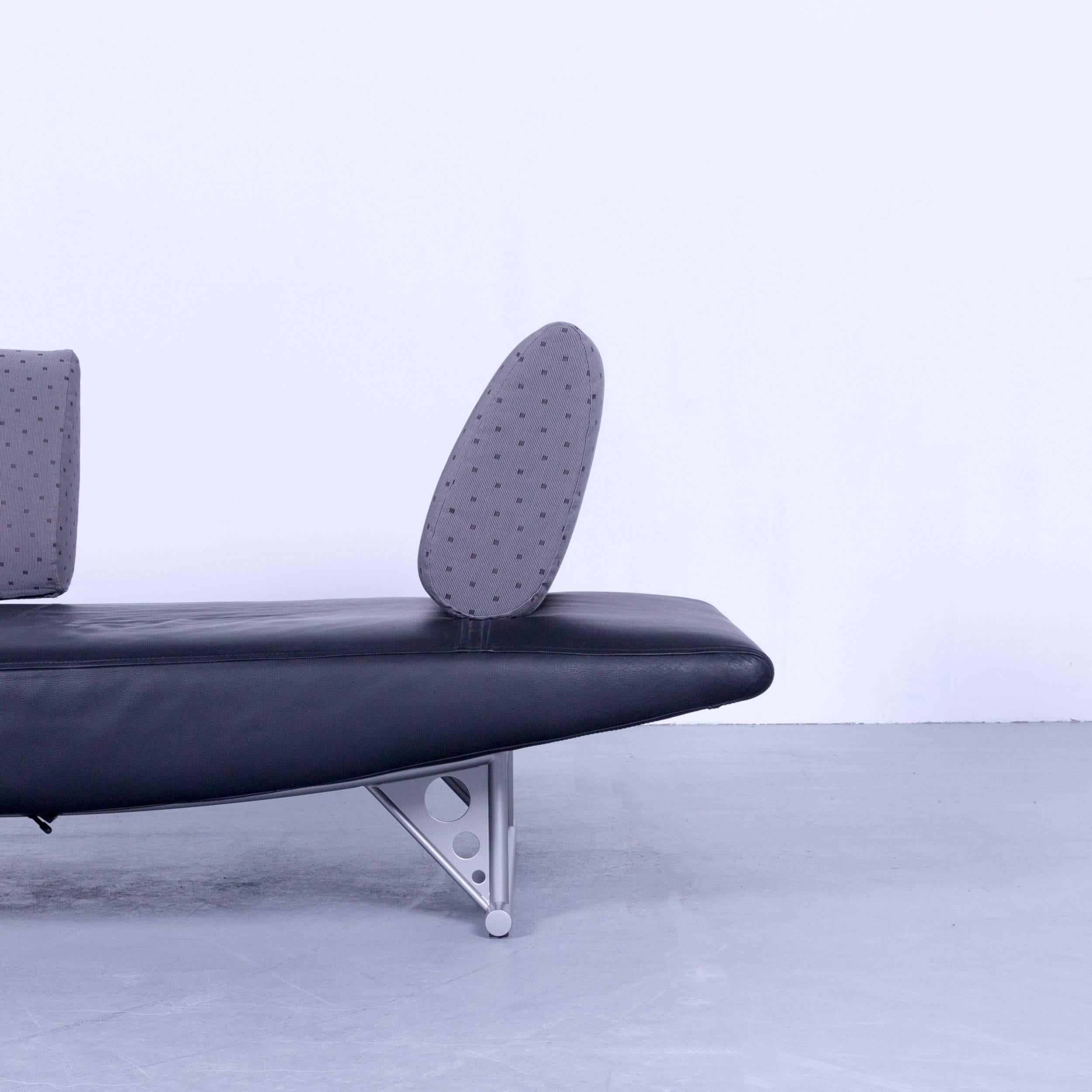 Sessel Made In Germany Cor Cirrus Designer Sofa Black Leather Function Modern Made In Germany