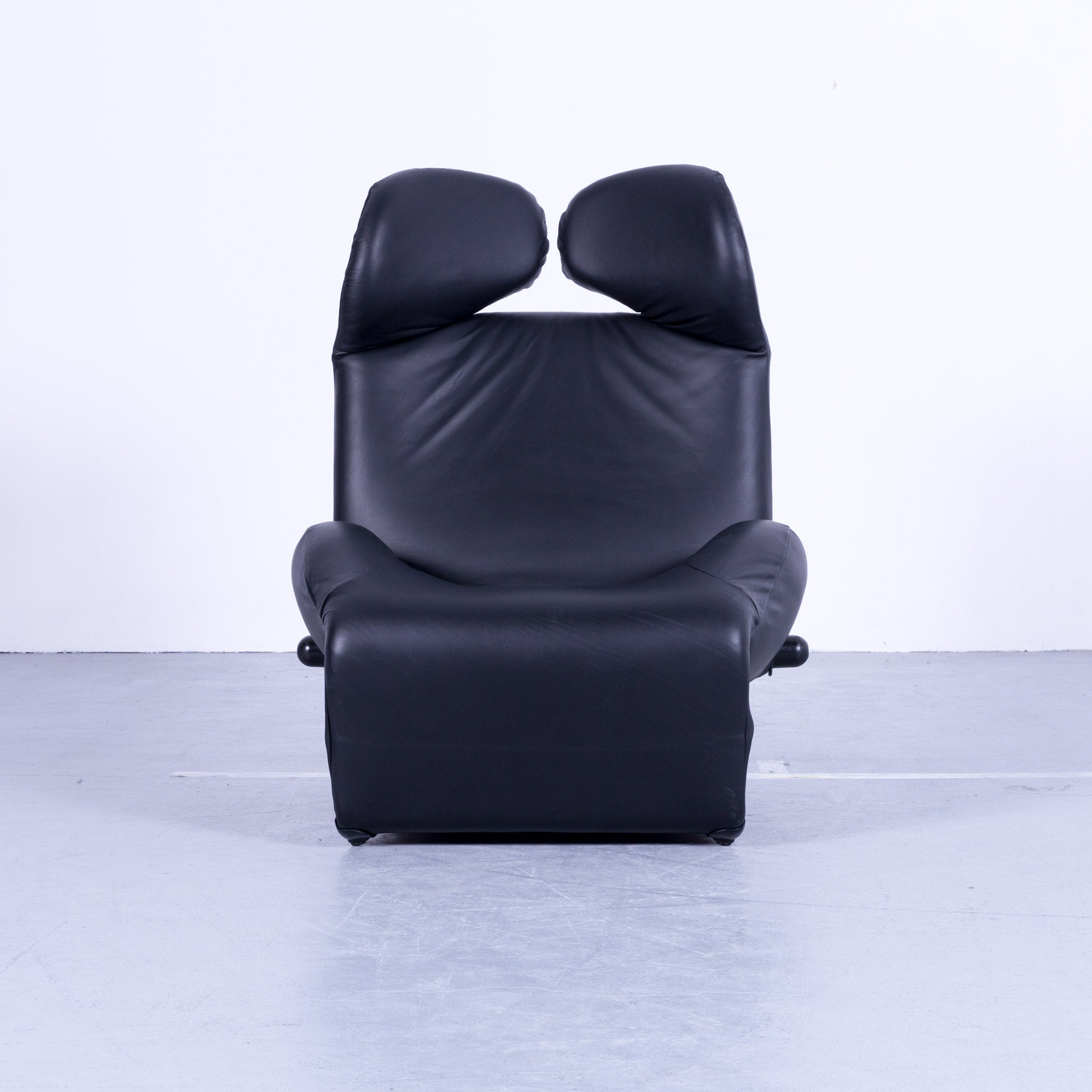 Wink Sessel Bezug Cassina Wink Designer Chair Black Leather Function Recliner By Toshiyuki Kita