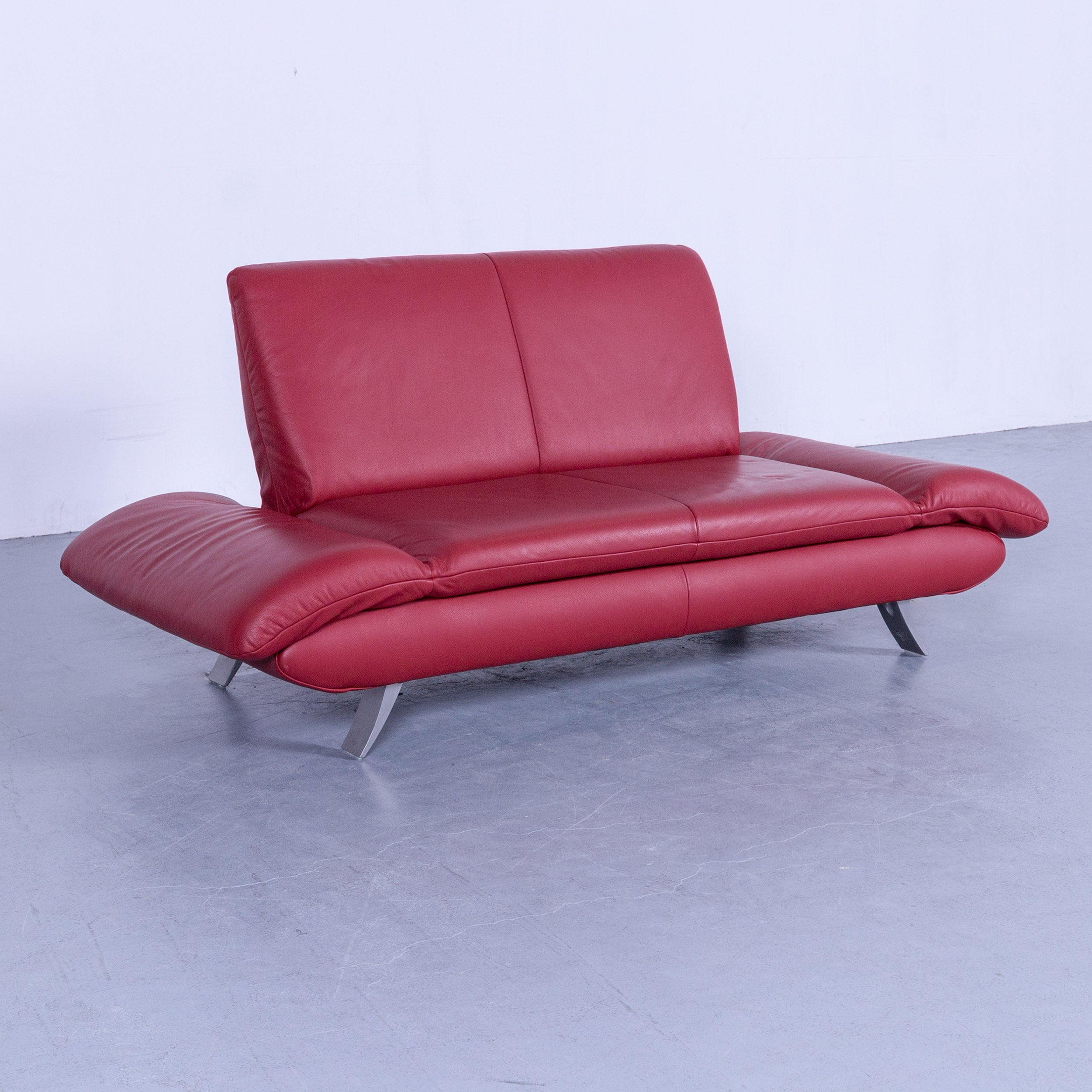 Sofa Funktion Koinor Rossini Designer Two Seat Sofa In Red Leather Function Modern Two
