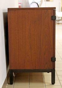 Mid-Century Modern Walnut Credenza Sideboard Kipp Stewart ...