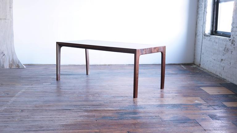 T05 Contemporary Handmade Walnut Dining Table By Jason