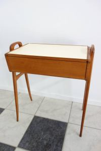 Scandinavian Style Sewing Table Mid-Century For Sale at ...