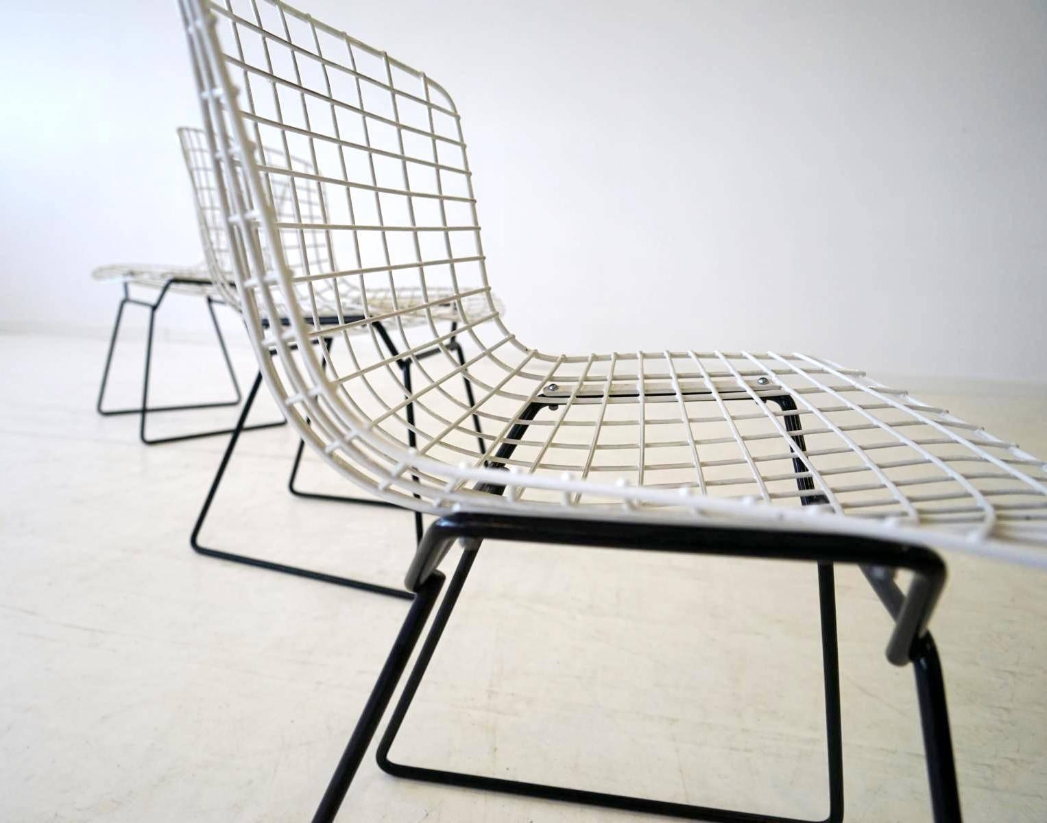 Diamond Sessel Set Of 4 Diamond Wire Side Chair By Harry Bertoia For Knoll International 1962