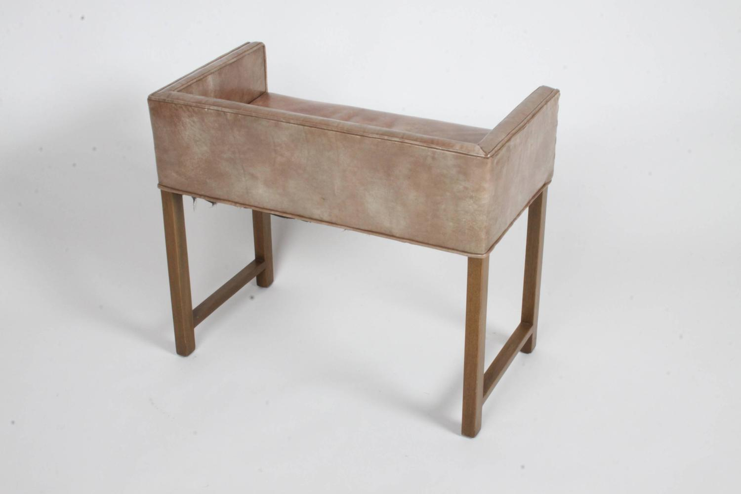 Vanity Bench For Sale Edward Wormley For Dunbar Vanity Stool Or Bench For Sale