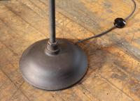 Stage Light, Ghost Floor Lamp, Cast Iron and Glass Two ...