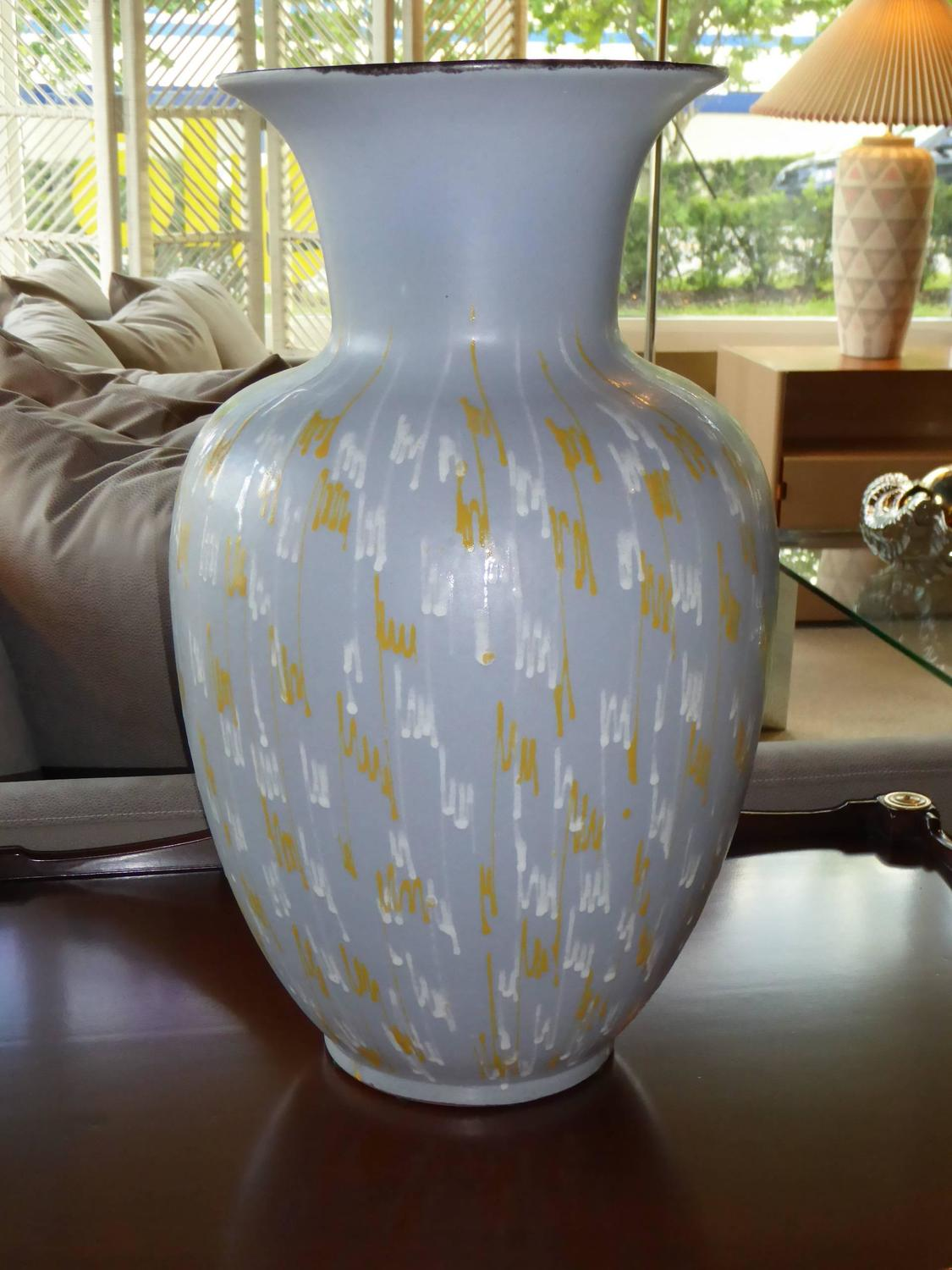 50 Inch Floor Vase Large Carstens 1956 Pottery Floor Vase Germany For Sale At