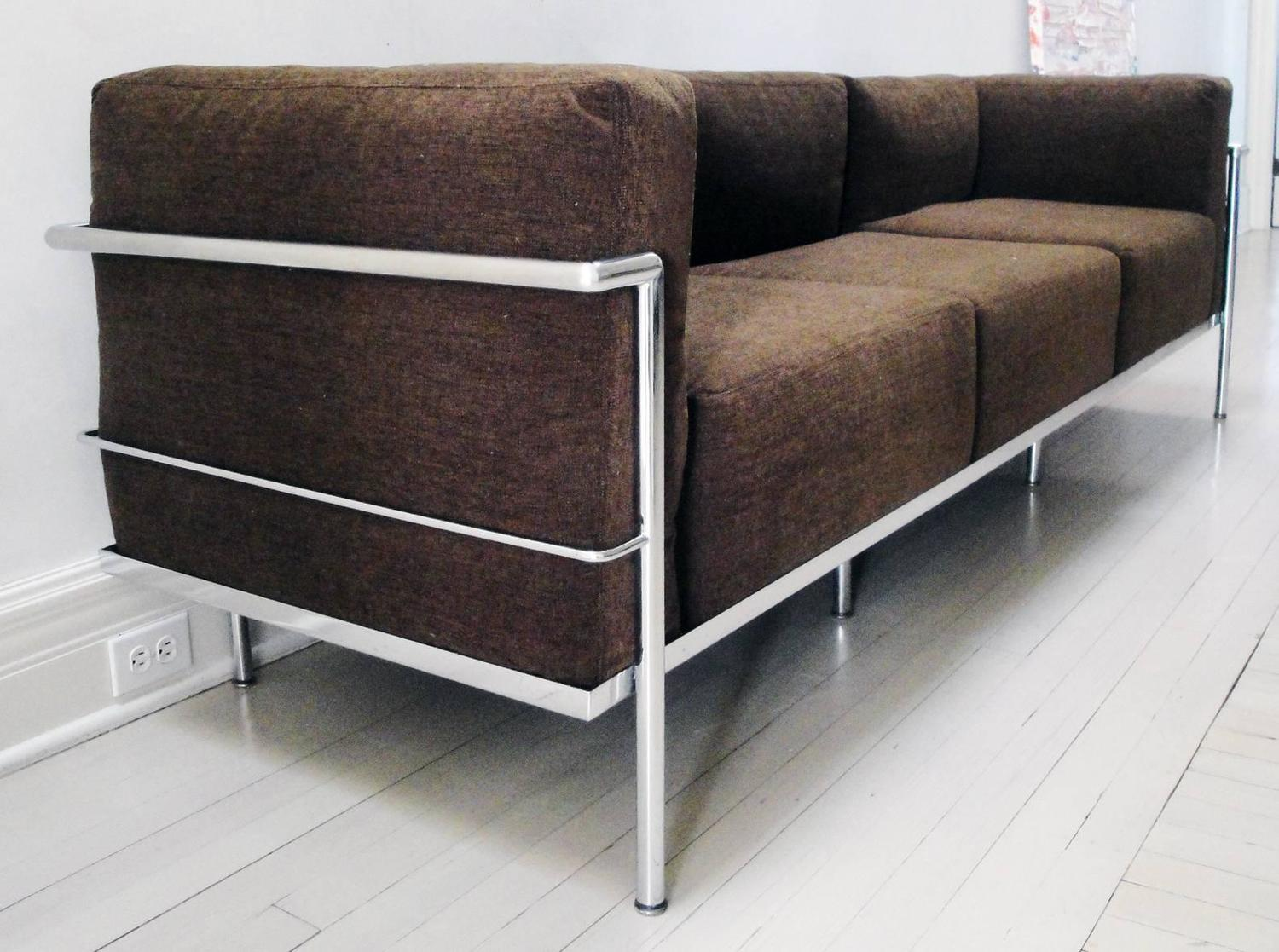"Sofa Le Corbusier Le Corbusier Lc3 ""grand Confort"" Sofa At 1stdibs"