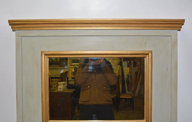 Neoclassical Style Trumeau Mantel Mirror For Sale At 1stdibs