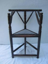 Primitive Corner Chair For Sale at 1stdibs