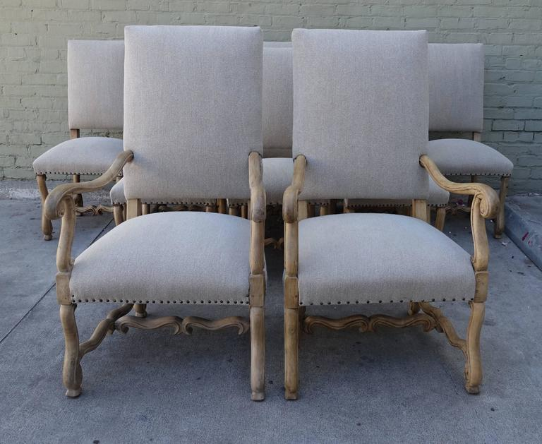 19th Century Spanish Dining Chairs Ten At 1stdibs