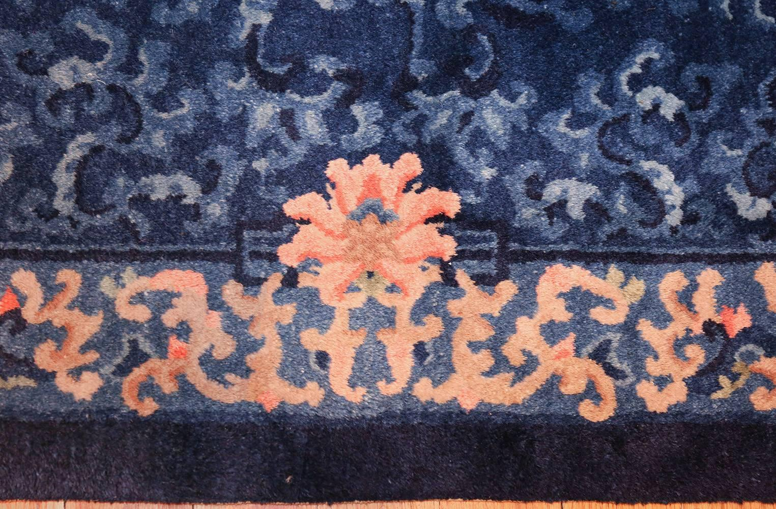 Pair Of Blue Antique Chinese Rugs For Sale At 1stdibs