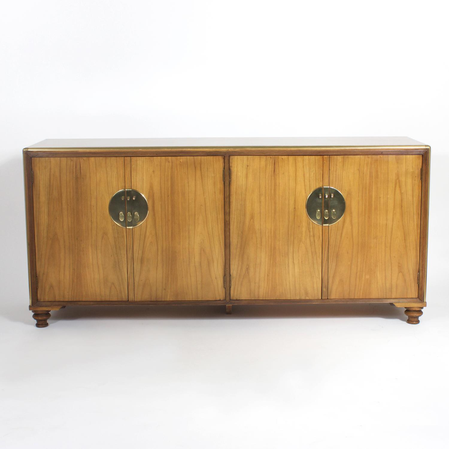 Asia Sideboard Mid Century Baker Sideboard For Sale At 1stdibs