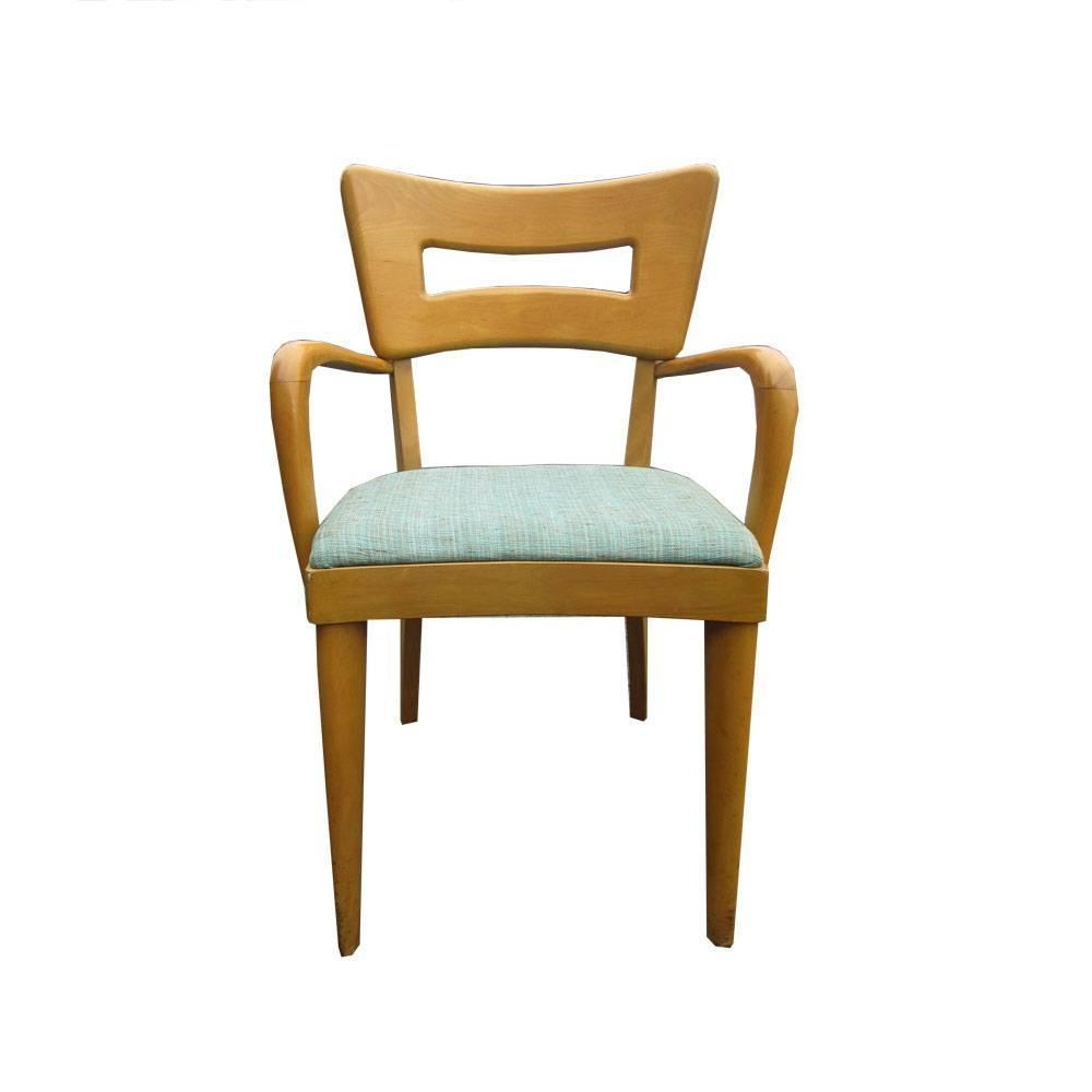 Set Of Eight Vintage Heywood Wakefield Dogbone Chairs For