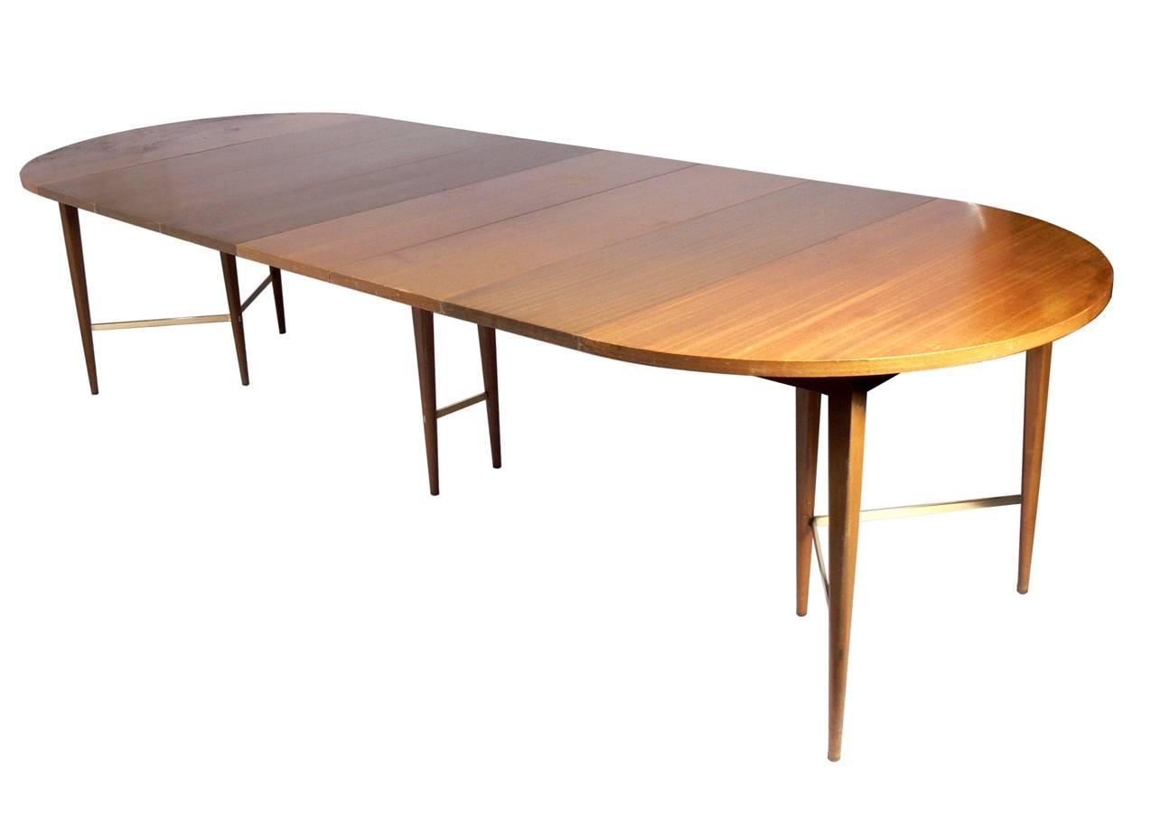 Dining Room Tables That Seat 12 Or More Paul Mccobb Modern Dining Table Seats 4 12 Guests At 1stdibs