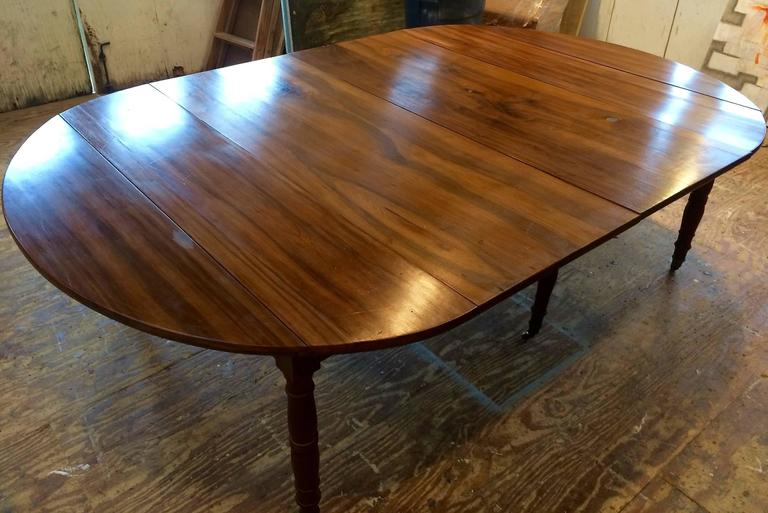 Large Early 19th Century French Extending Dining Table For
