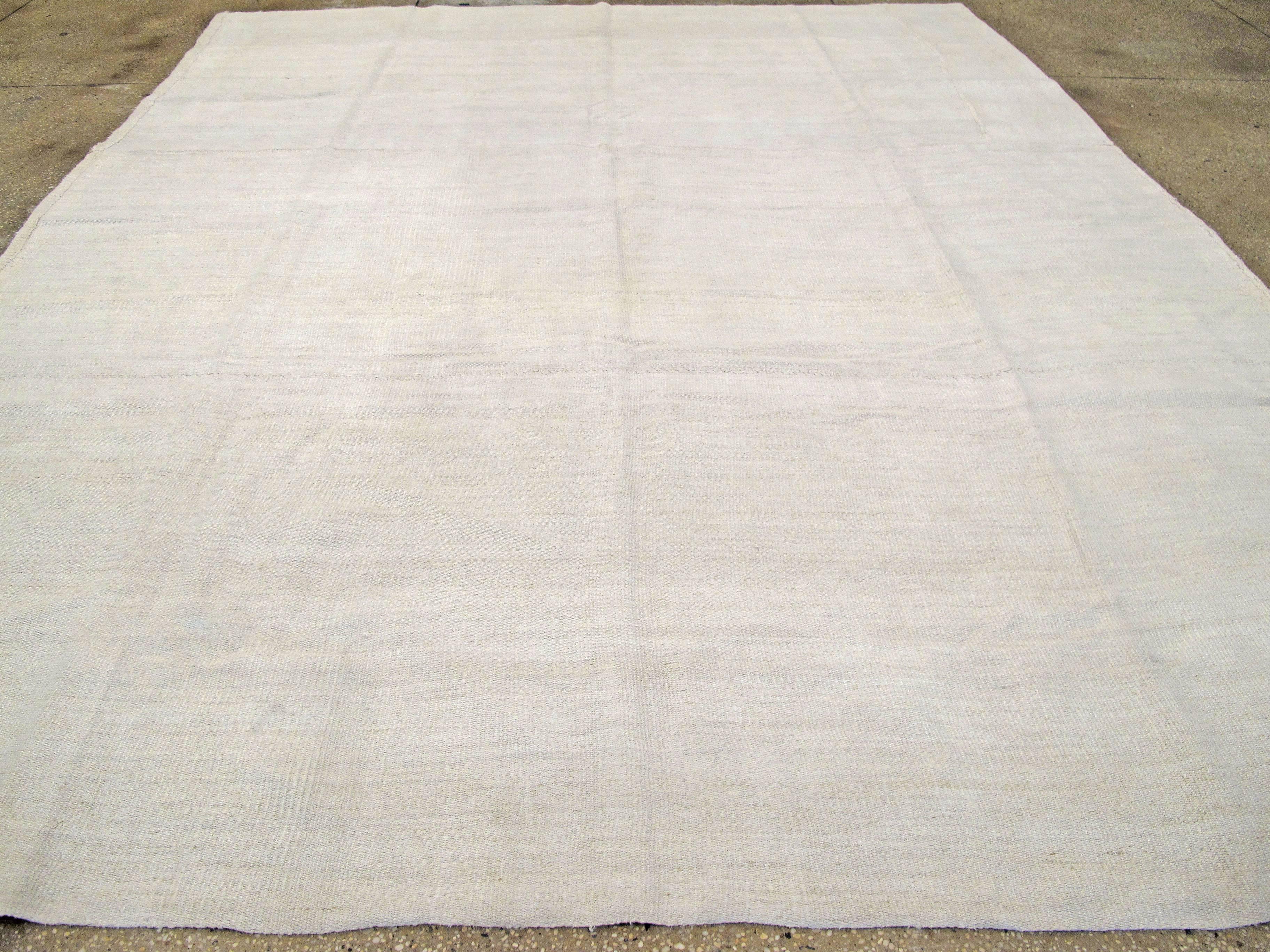 Vintage Turkish Flat Weave Carpet For Sale At 1stdibs