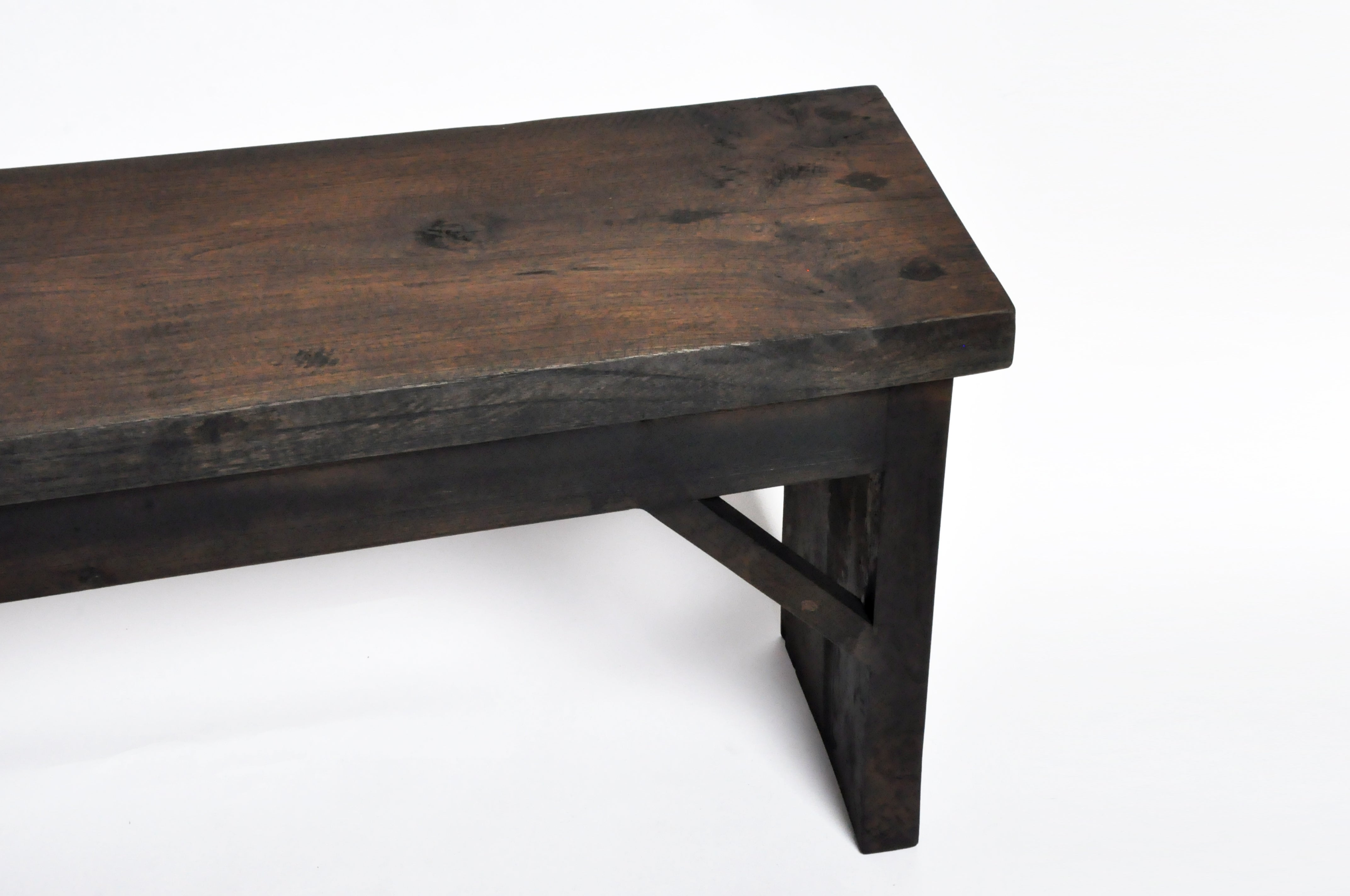 Indonesische Teakholzbank Reclaimed Teak Wood Bench