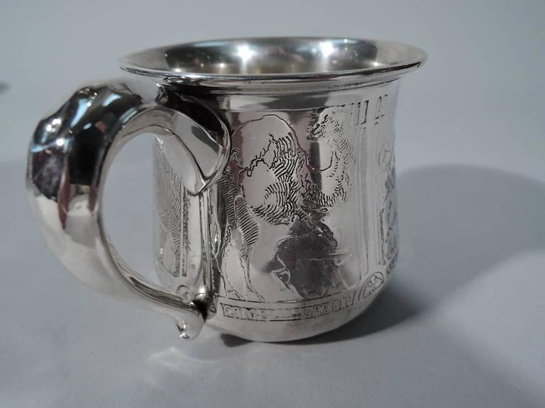 Antique Kerr Sterling Silver Baby Cup With Super Sweet