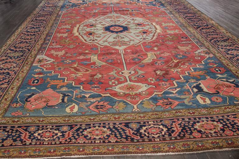 Antique Serapi Rug For Sale At 1stdibs