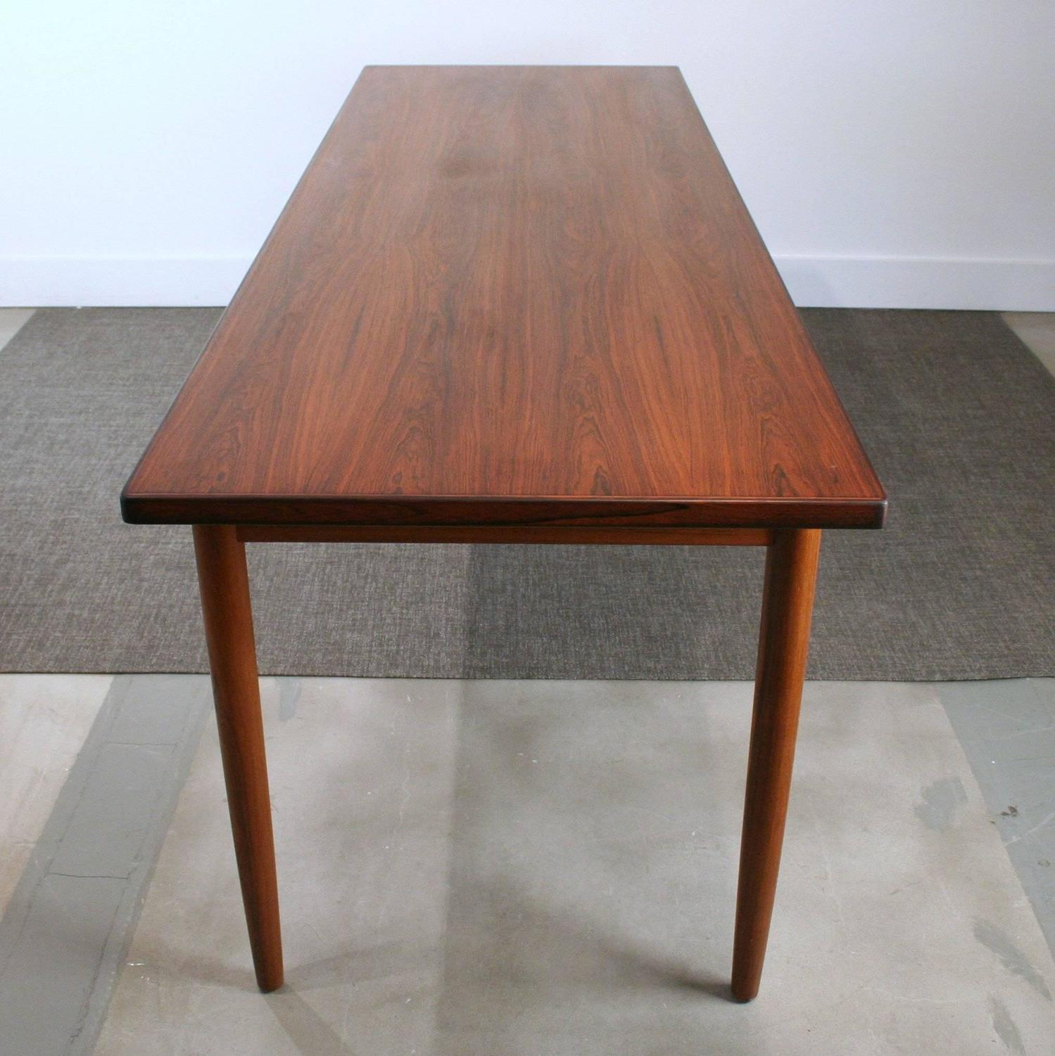 Long Dining Table For Sale Vintage Danish Rosewood Narrow Dining Table For Sale At