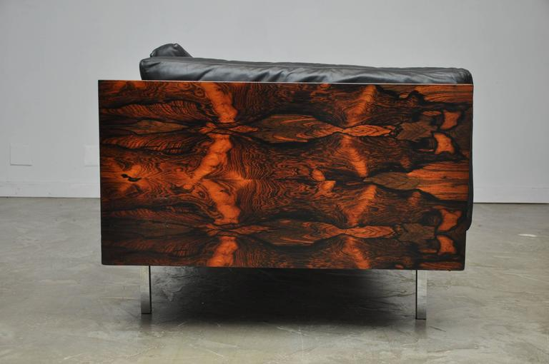 Rosewood Case Sofa by Milo Baughman at 1stdibs
