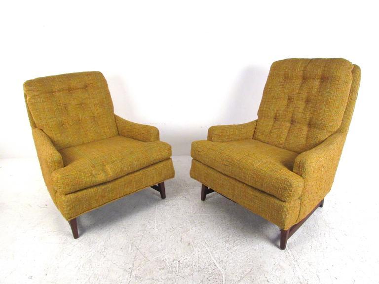 Mid Century Modern Selig Lounge Chair Single Tall Chair