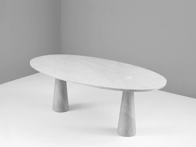 Angelo Mangiarotti Early 39eros39 Marble Dining Table For