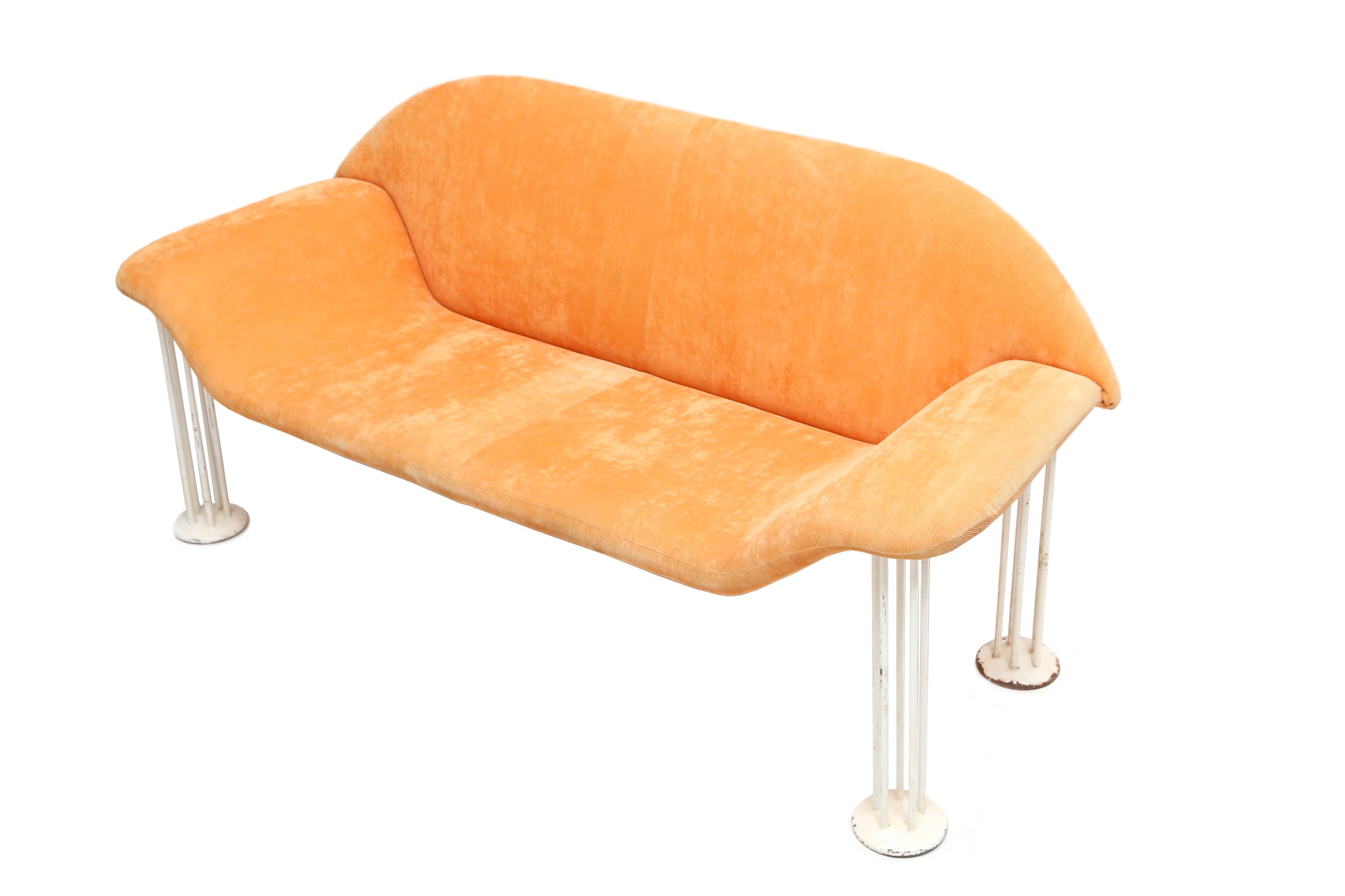 Interio Sofa Marilyn Mid Century Modern Vintage Memphis Style Italian Sofa For Sale At