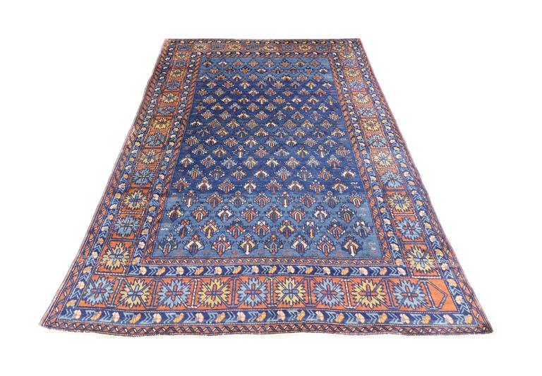 Antique Yerevan Rug With Modern Tribal Style Antique