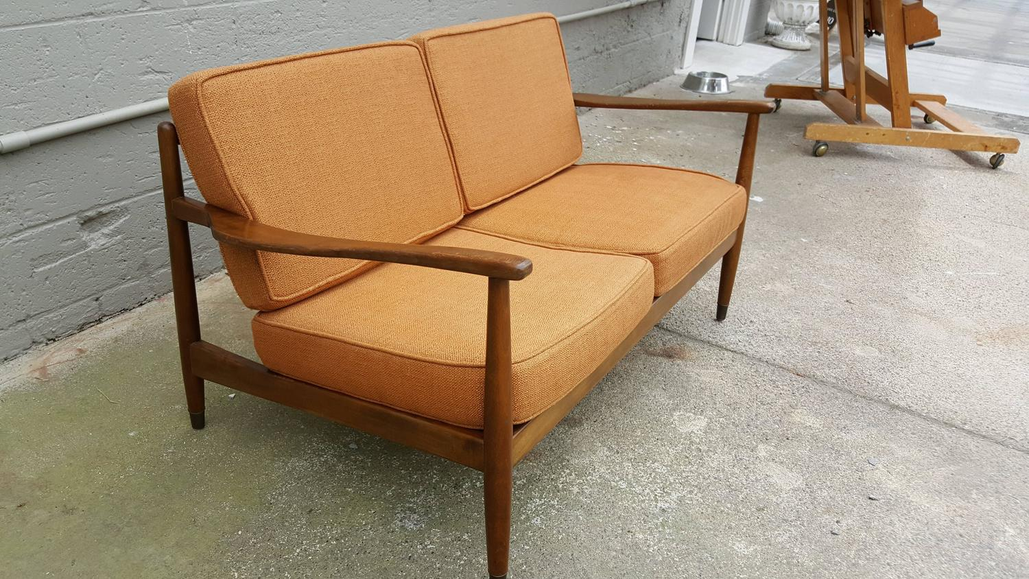 Scandinavian Furniture Sale Classic Scandinavian Modern Sofa Or Loveseat By Dux For