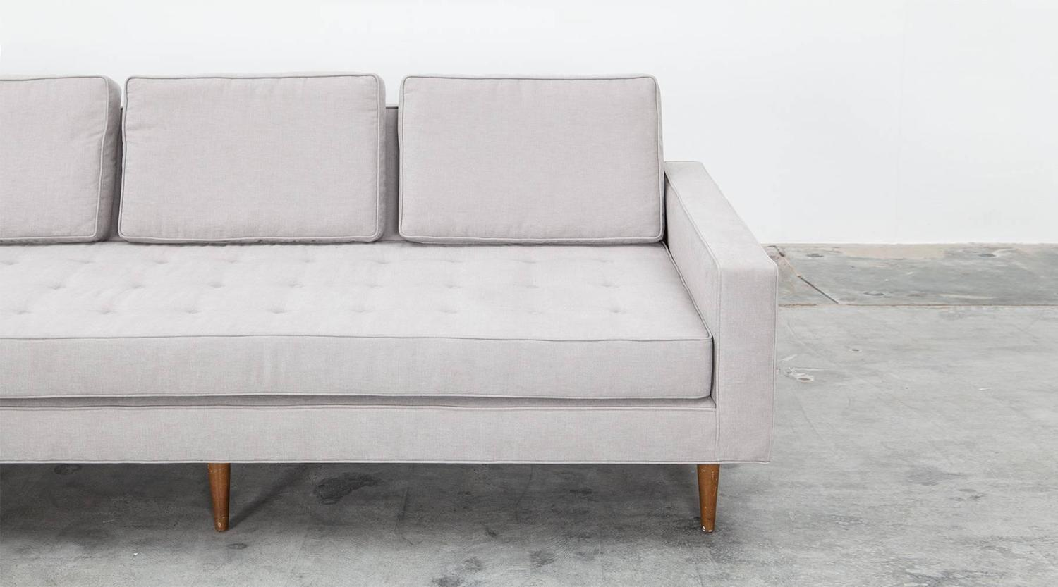 Sofa Sale Harveys Harvey Probber Sofa Upholstered In Jack Lenor Larsen Fabric At
