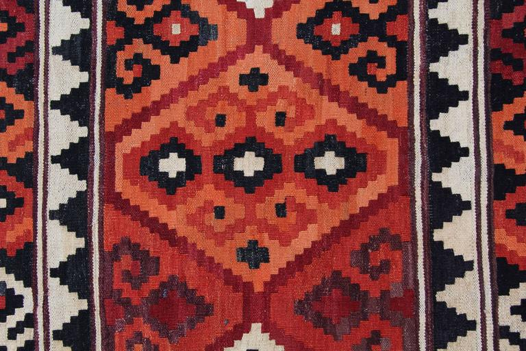 New Traditional Kllim Rugs From Afghanistan Geometrical