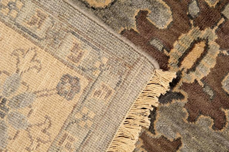 Damask Modern Rugs Carpet From Nepal For Sale At 1stdibs